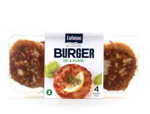 Prøv også Lofoten Fiskeburger med sei og purreløk.