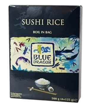 Bilde av Blue Dragon Sushiris boil in bag.
