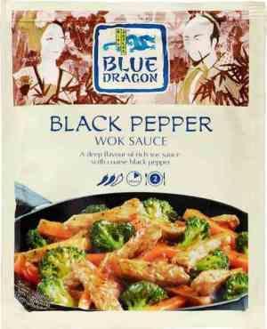 Bilde av Blue Dragon Woksaus Black pepper premium.