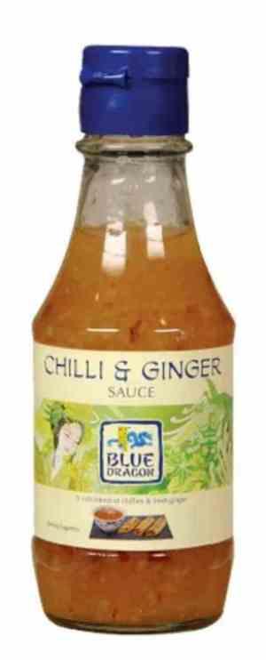 Prøv også Blue Dragon Sweet Chili and ginger saus.