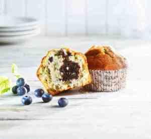 Prøv også Aunt Mabel blueberry muffins 160g.