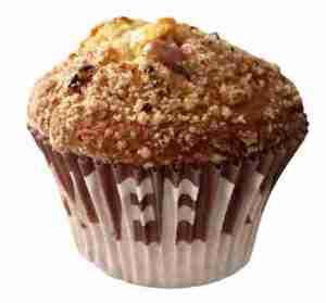 Prøv også Aunt Mabel long neck caramel pecan muffin.