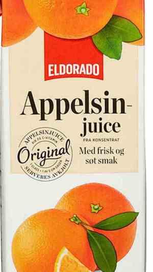 Bilde av Eldorado appelsinjuice.