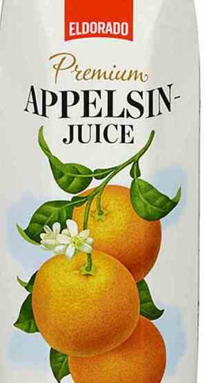 Bilde av Eldorado appelsinjuice Premium.
