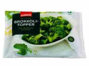 Prøv også Eldorado brokkolitopper.
