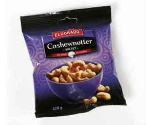 Prøv også Eldorado cashewnøtter.