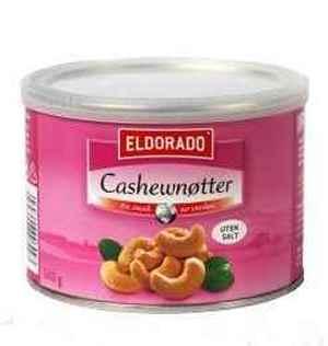 Prøv også Eldorado cashewnøtter ristede.