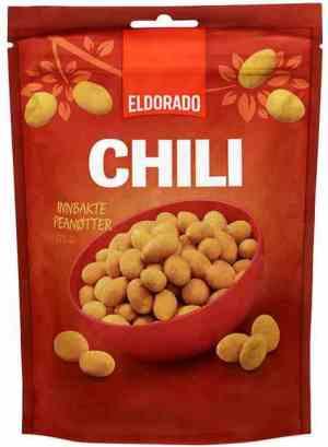 Prøv også Eldorado chilinøtter 150gr.