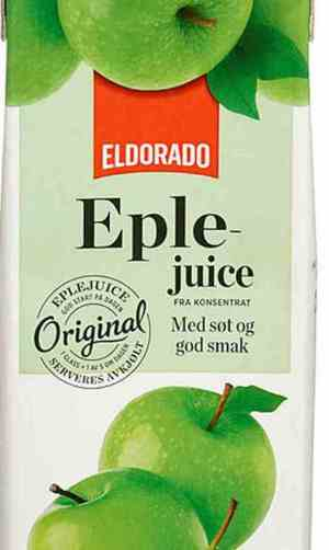 Prøv også Eldorado eplejuice.