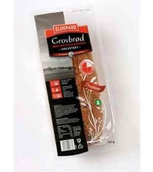 Prøv også Eldorado grovbrød m/gresskarkjerner.