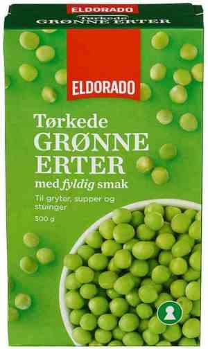 Prøv også Eldorado grønne erter.