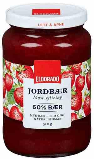 Bilde av Eldorado jordbærsyltetøy.