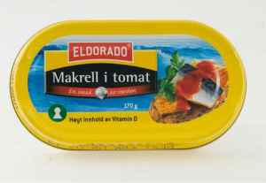 Bilde av Eldorado makrell i tomat.