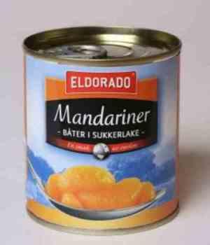 Prøv også Eldorado mandariner.