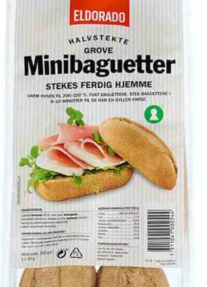 Prøv også Eldorado minibaguetter grove.
