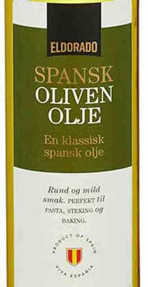 Prøv også Eldorado olivenolje.
