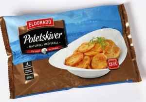 Bilde av Eldorado potetskiver Express m/skall.
