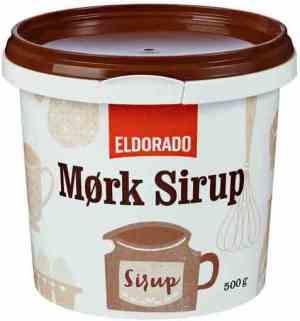 Prøv også Eldorado sirup, mørk.