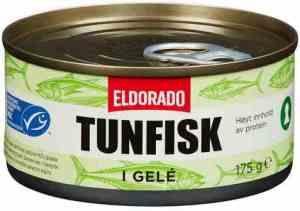 Bilde av Eldorado tunfisk i gele.