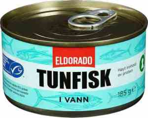 Prøv også Eldorado tunfisk i vann.