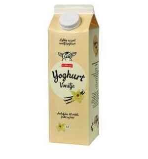Bilde av Eldorado yoghurt vanilje.