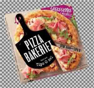 Prøv også Pizzabakeriet spekeskinke.