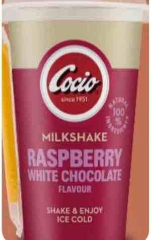 Prøv også Arla Cocio Milkshake raspberry.