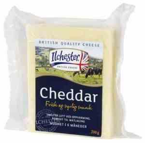Prøv også Ilchester Cheddar.