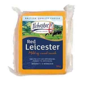 Prøv også Ilchester red Leicester Cheddar.