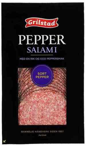 Prøv også Grilstad jubelsalami med pepper.