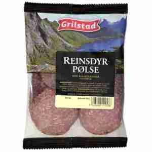 Prøv også Grilstad reinsdyrpølse.