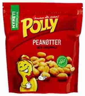 Prøv også Polly peanøtter salte.
