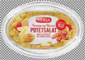Prøv også Denja potetsalat sennep og bacon.