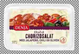 Prøv også Denja chorizosalat.