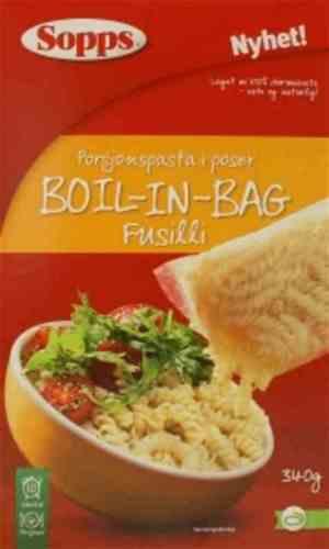 Prøv også Sopps Fusilli Boil-in-bag.
