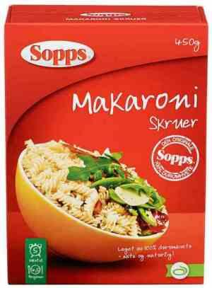Prøv også Sopps Makaroni Skruer.