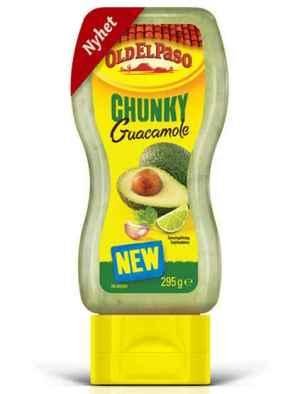 Prøv også Old El Paso chunky guacamole.