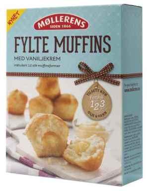 Prøv også Møllerens fylte muffins.