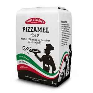 Prøv også Møllerens pizzamel tipo 0.