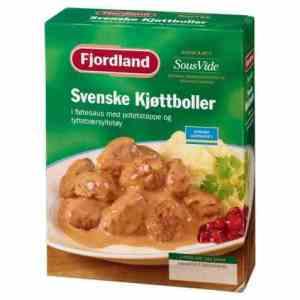 Prøv også Fjordland Svenske kjøttboller i fløtesaus med potetstappe og tyttebærsyltetøy.