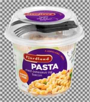 Prøv også Fjordland Pasta med ostesaus og bacon.
