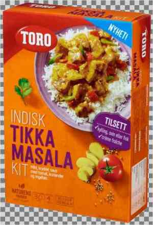 Prøv også Toro indisk masala kit.