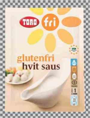 Prøv også Toro glutenfri hvit saus.