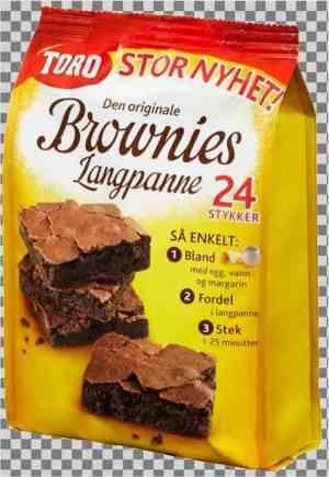 Prøv også Toro brownies langpanne.