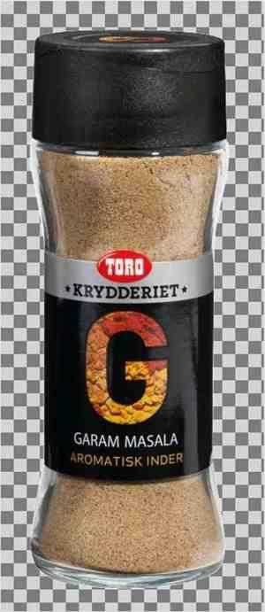 Prøv også Toro krydderiet garam masala.