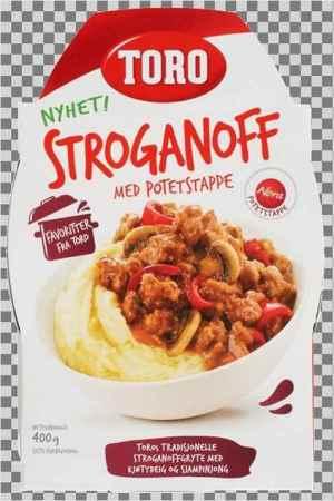 Prøv også Toro stroganoff gryte ferdig.