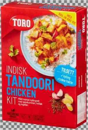 Prøv også Toro indisk tandoori chicken kit.