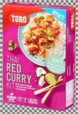 Prøv også Toro thai panang red curry kit.