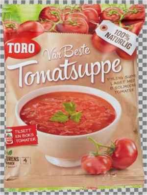 Prøv også Toro vår beste tomatsuppe.