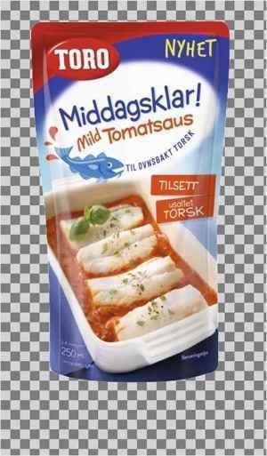 Prøv også Toro middagsklar mild tomatsaus.